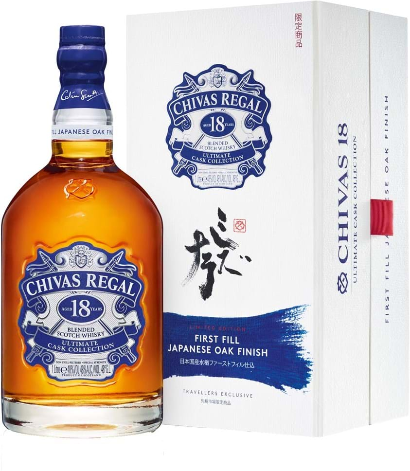 Chivas regal 18 ultimate cask collection japanese oak finish - Chivas regal 18 1 liter price ...