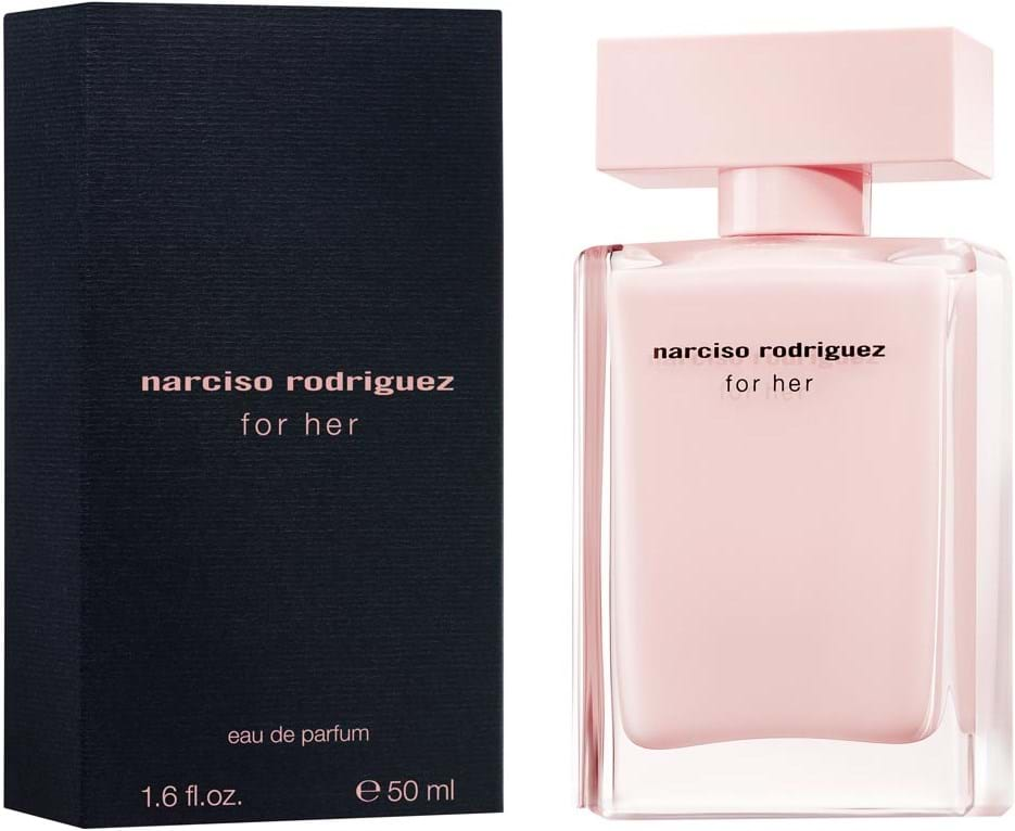 narciso rodriguez for her eau de parfum 50 ml. Black Bedroom Furniture Sets. Home Design Ideas