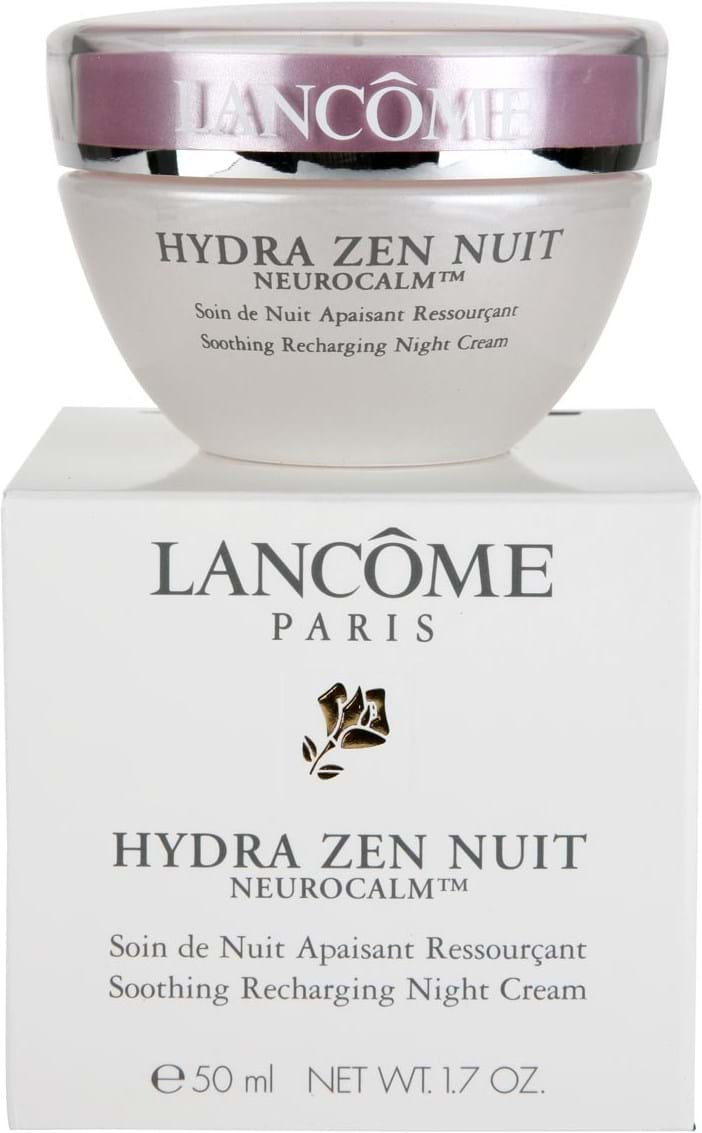 Lancme Hydra Zen Neurocalm Soothing Recharging Night 50 Ml Anti Stress Moisturising Cream Gel 50ml Guidance Smooth Nuit Onto Cleansed Skin Moving From Your Forehead To Cheeks And Chin Working