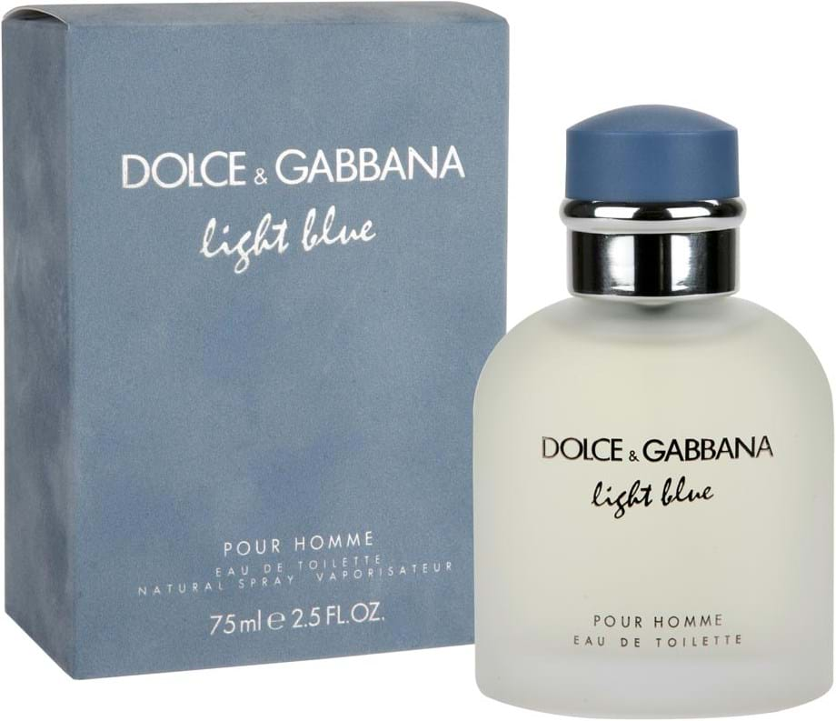 Dolce   Gabbana Light Blue Pour Homme Eau de Toilette 75 ml. product 79642de8a685