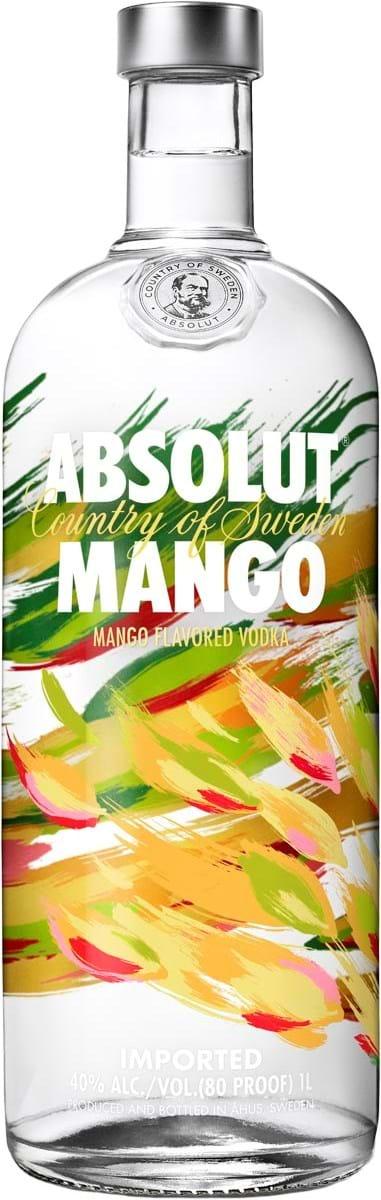 absolut mango 40 1l