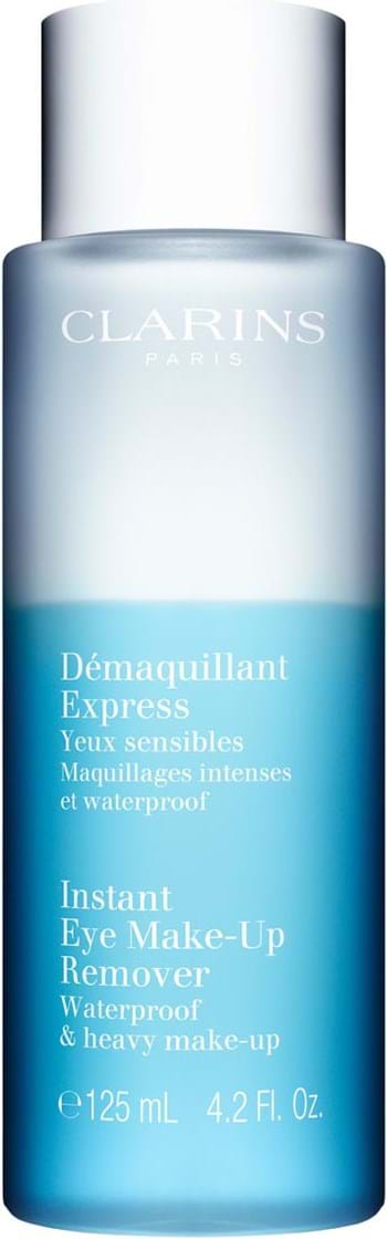 Clarins Cleansing Instant Eye Make-Up Remover Bi Phased Lotion 125 ml