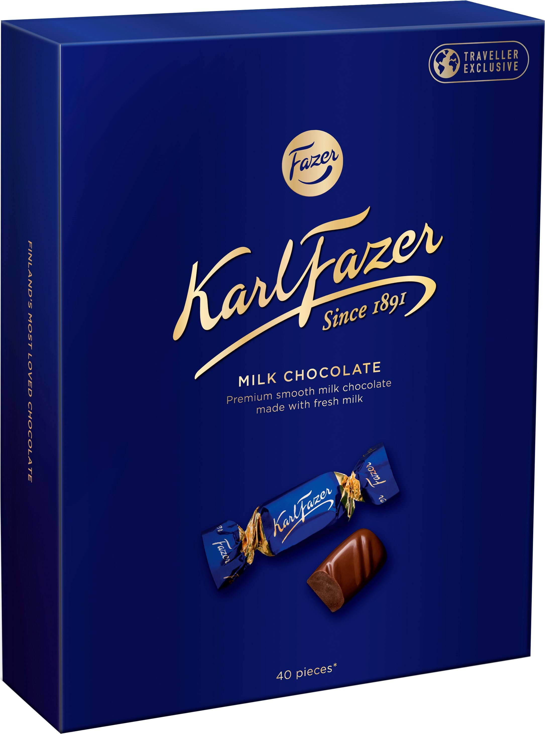 Karl Fazer Milk Chocolate Travel Box 295g