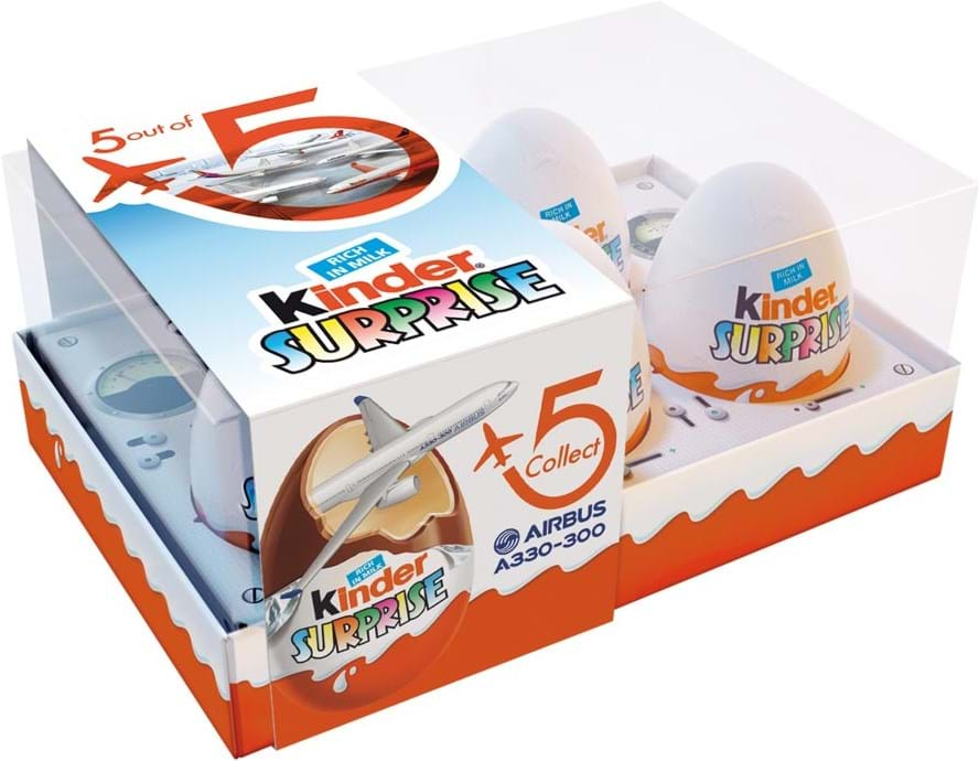 Kinder Surprise Airbus, 5 x 20g