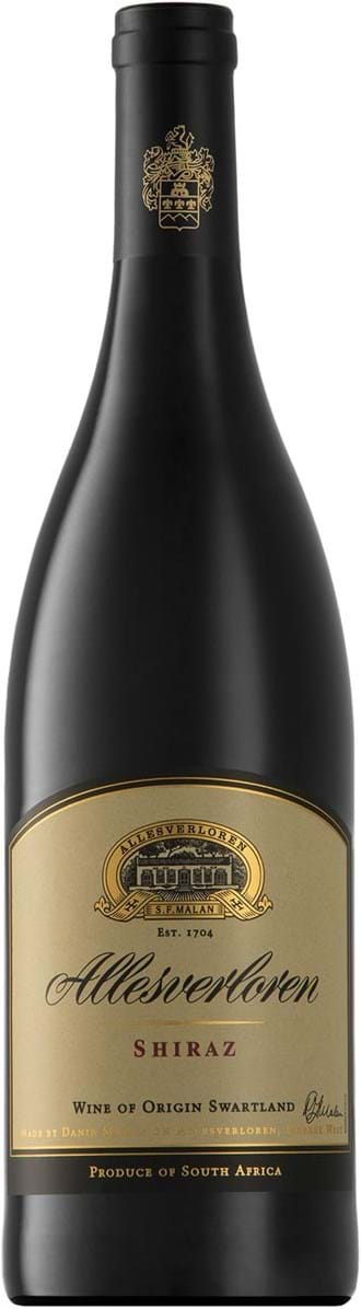 Allesverloren, Shiraz, Wine of Origin, Swartland, dry, red, 0.75L