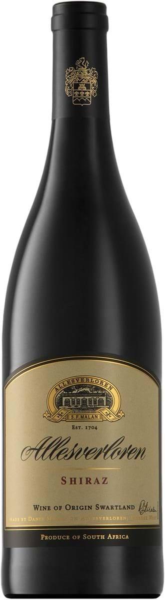 Allesverloren, Shiraz, Wine of Origin, Swartland, tør, rød, 0,75L