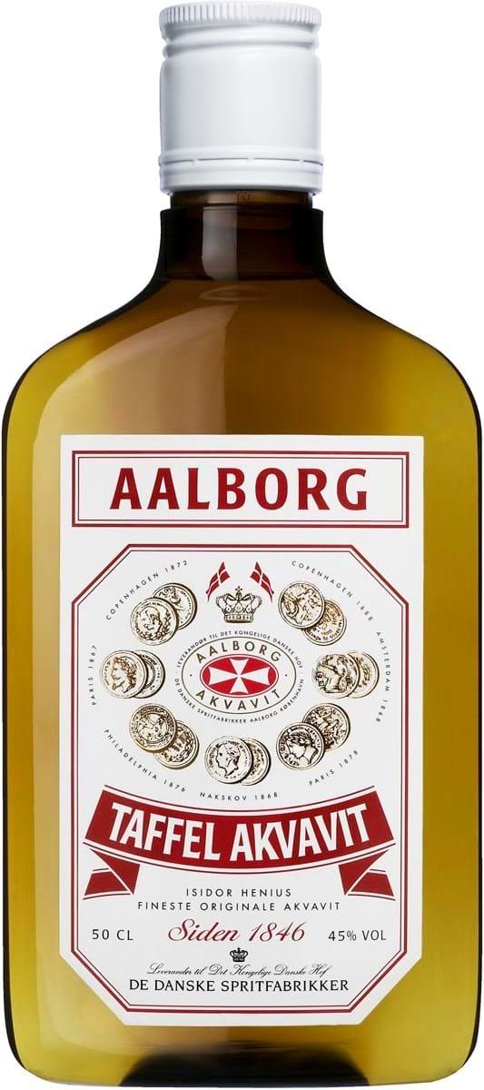 Aalborg Taffel Akvavit 45% 0,5L PET*