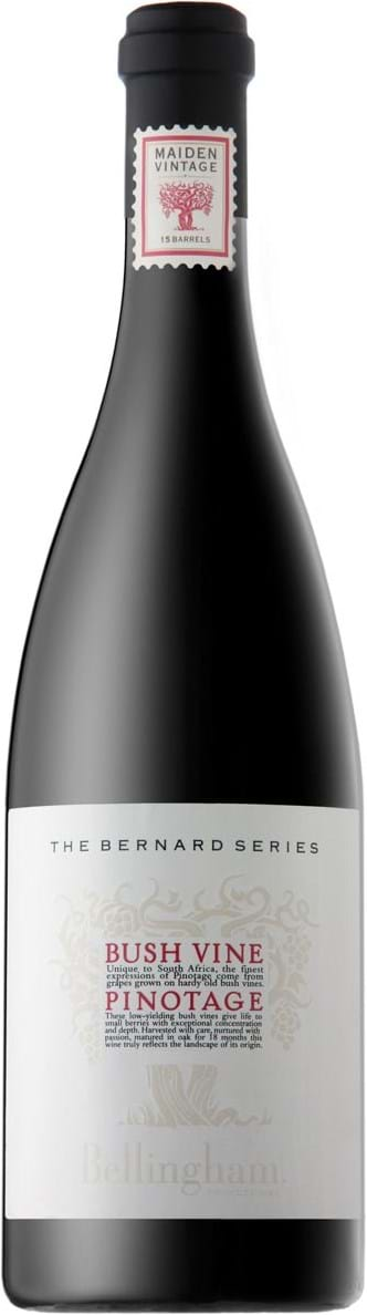 Bellingham, Bernard Series, Bush Vine, Pinotage, Wine of Origin, CoastalRegion, dry, red, 0.75L