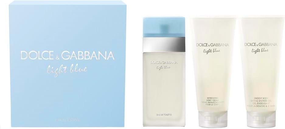 Dolce & Gabbana Light Blue Set