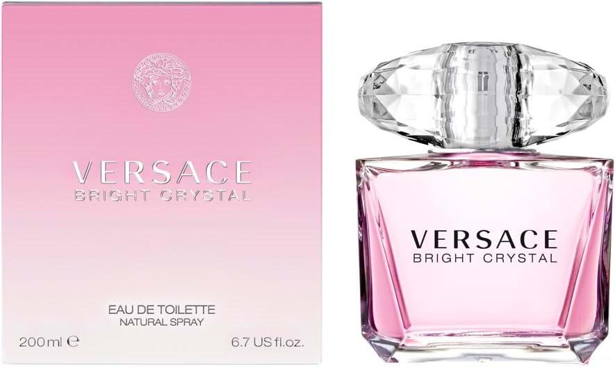 Versace Bright Crystal Natural Eau de Toilette 200 ml