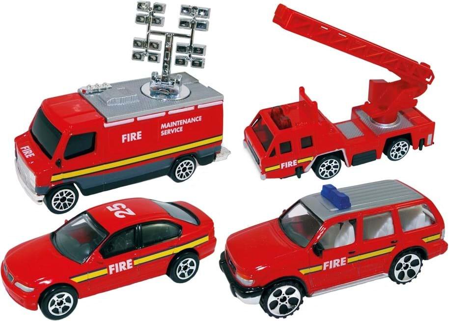 Premier Portfolio, fire truck