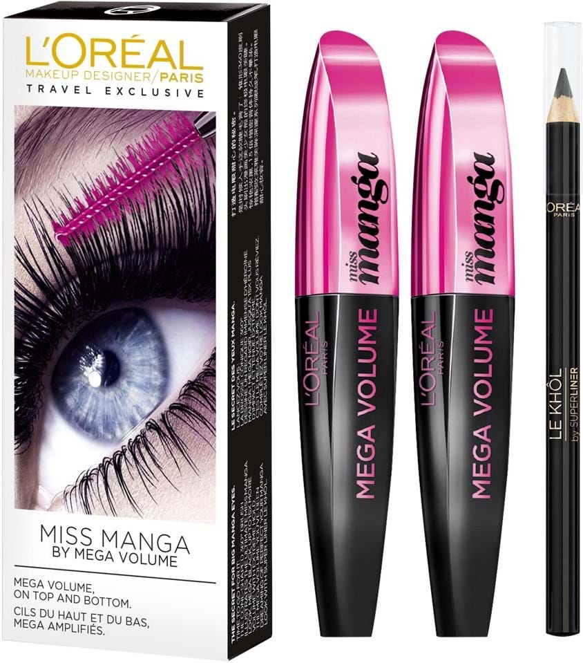 L'Oréal Paris Mega Volume Miss Manga Set