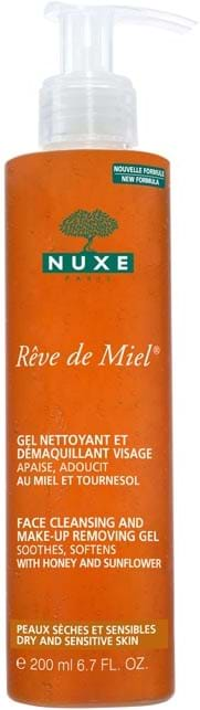 Nuxe Rêve de Miel Face Cleansing and Make-up Removing Gel 200 ml