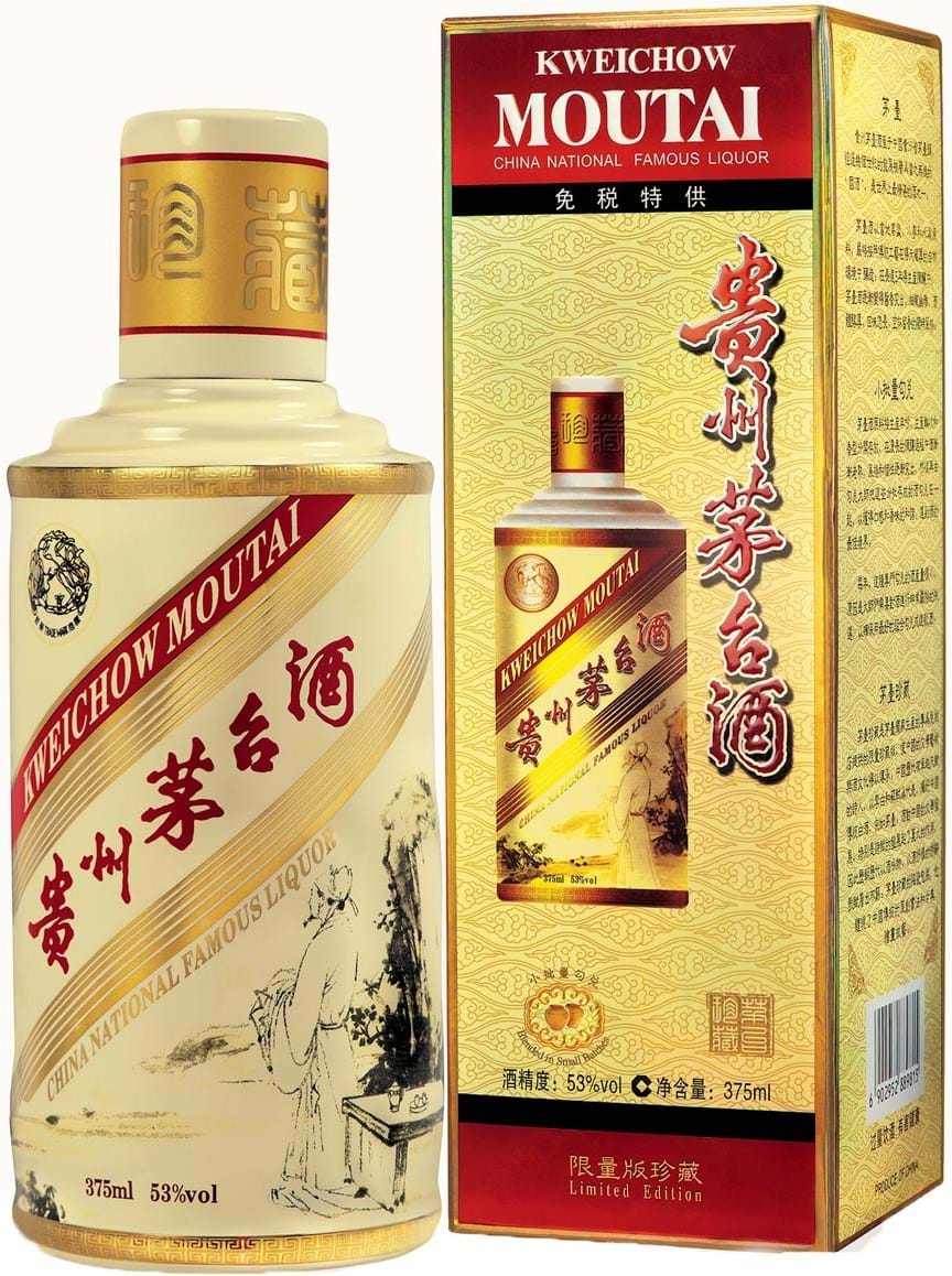 Kweichow Moutai Legendary China Collection 53 % 0,375L