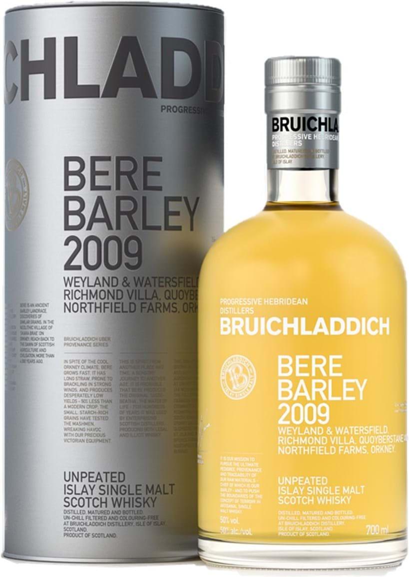 Bruichladdich Bere Barley 50% 0,7L