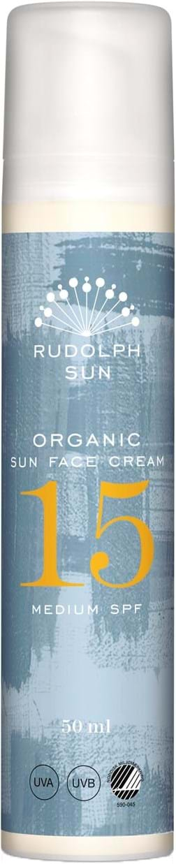 Rudolph Care Organic Sun Face Cream 15 SPF 50 ml