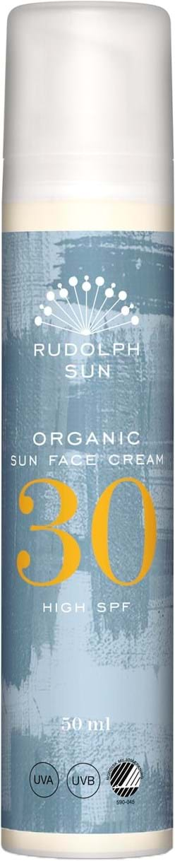 Rudolph Care Organic Sun Face Cream SPF30 50ml