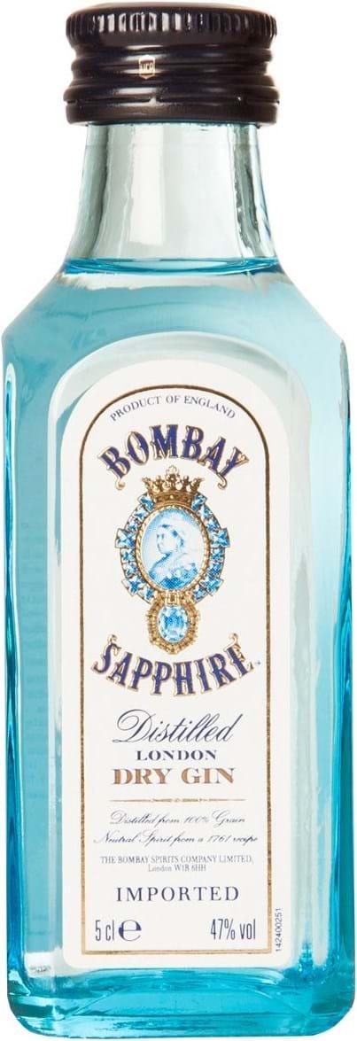 Bombay Sapphire Gin PET 47% 0,05L