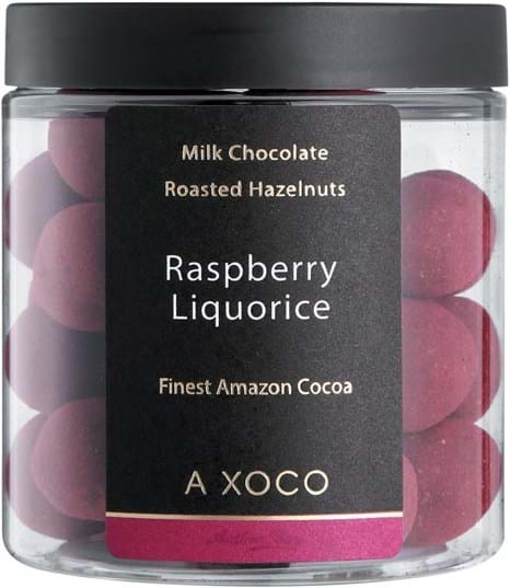 Axoco Dragée Raspberry Liquorice 135g