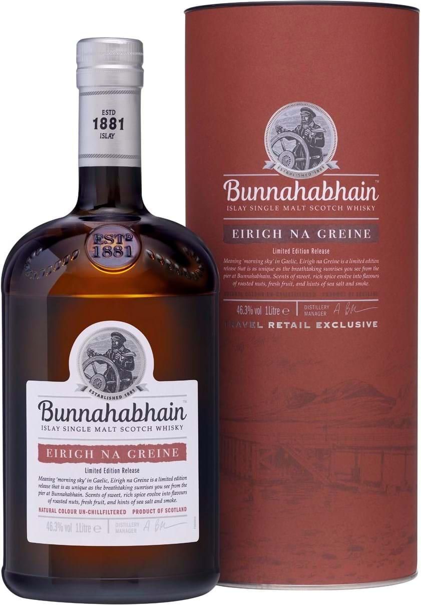Bunnahabhain Eirigh Na Greine 46,3% 1L, gaverør
