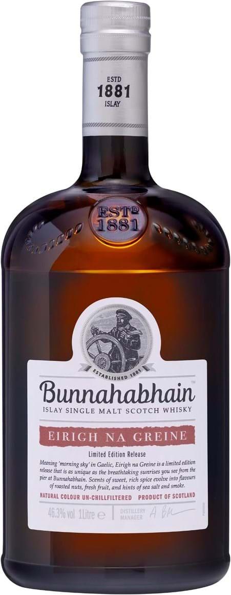 Bunnahabhain Eirigh Na Greine 46.3% 1L Gift Tube