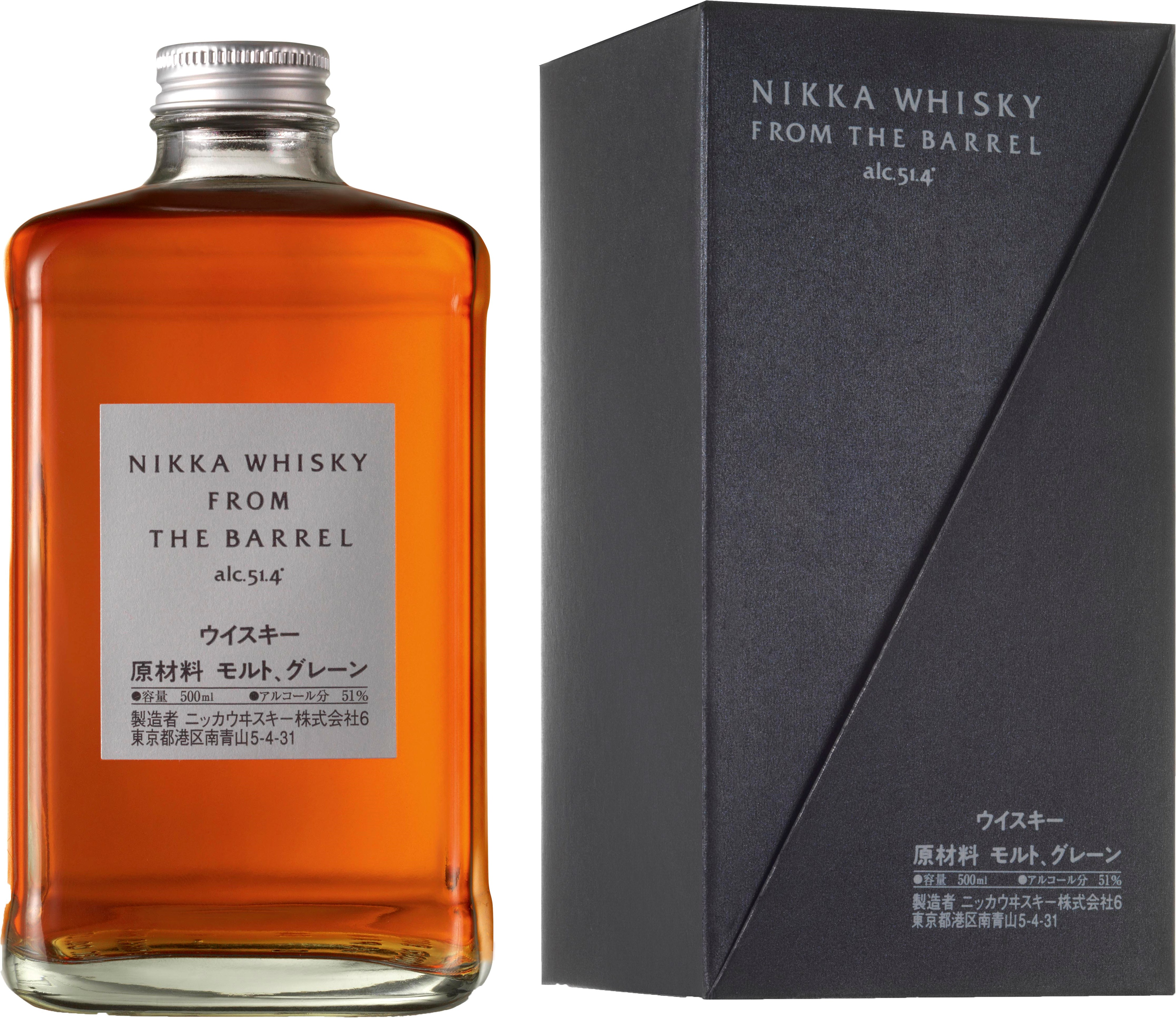 Nikka From The Barrel 51.4% 0.5L Giftpack