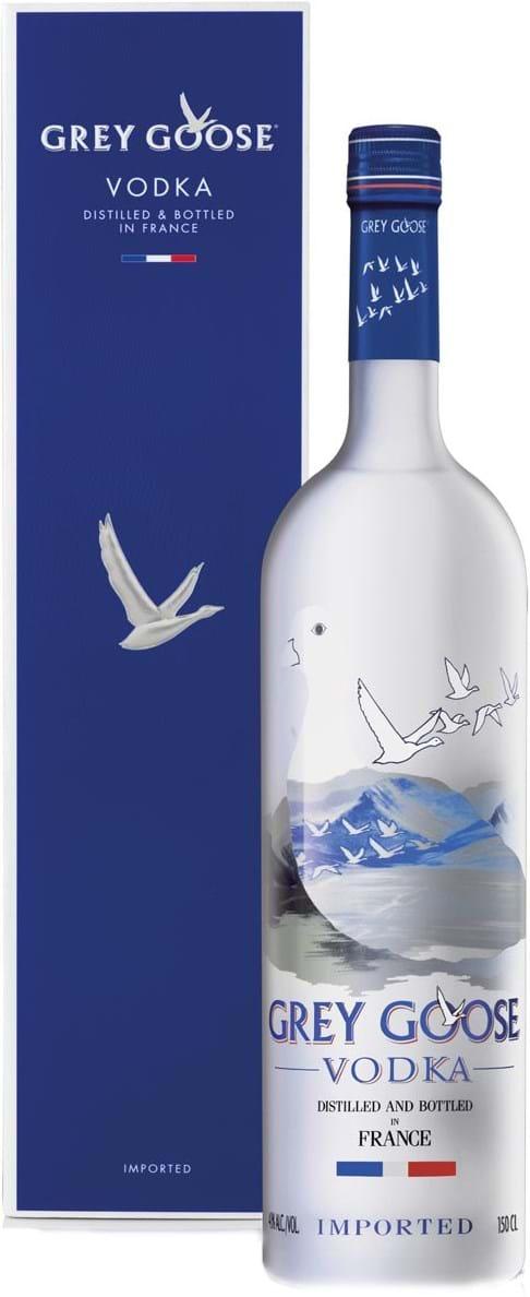 Grey Goose Vodka 40% 1.5L, Gift pack