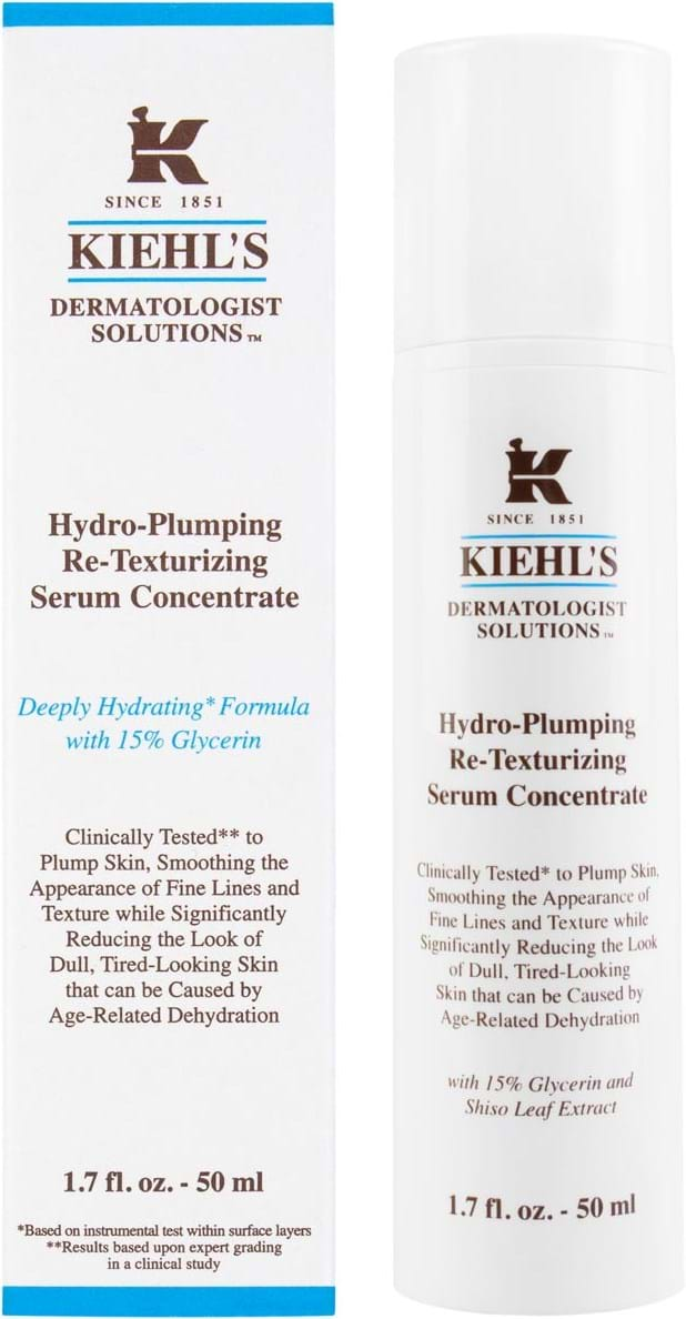 Kiehl`s Dermatologist Solutions Hydro-Plumping Re-Texturizing Serum Concentrate 50 ml