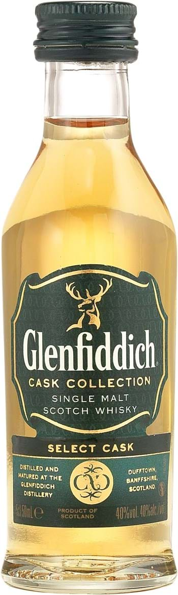 Glenfiddich Select Cask 40% 0.05L
