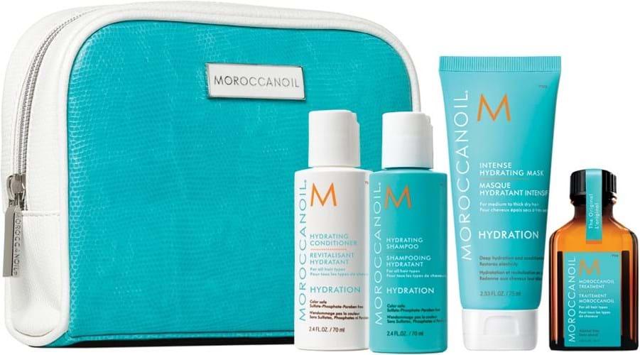 Moroccanoil Hydrating-rejsesæt