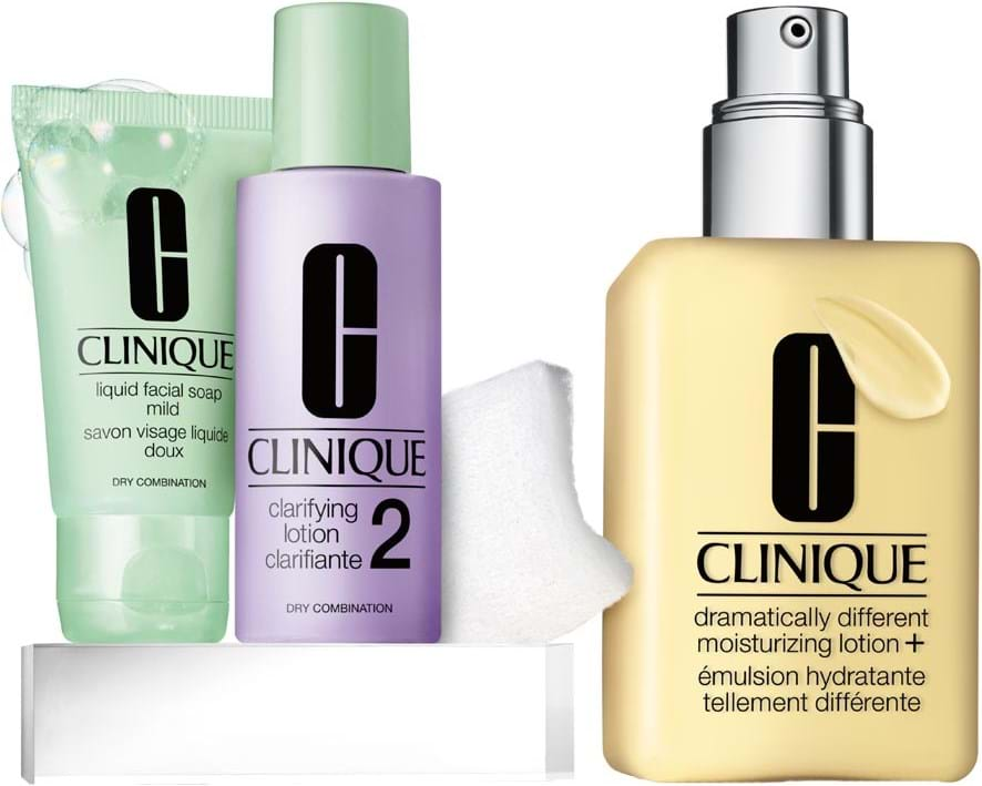 Clinique Great Skin Starts Here Type I/II-sæt