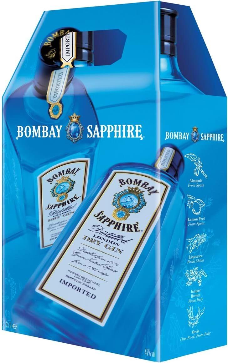 Bombay Sapphire 47% 2x1L Twinpack