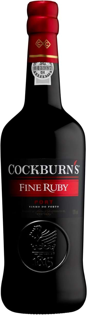 Cockburn's Fine Ruby 19 % 1L