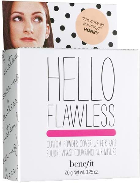 Benefit Hello Flawless pudderfoundation Cute As A Bunny