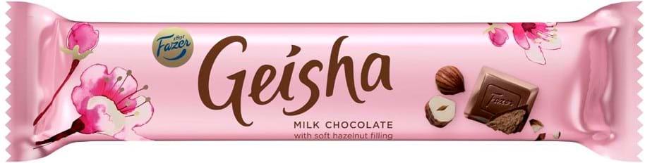 Geisha fyldt mælkechokolade 37g