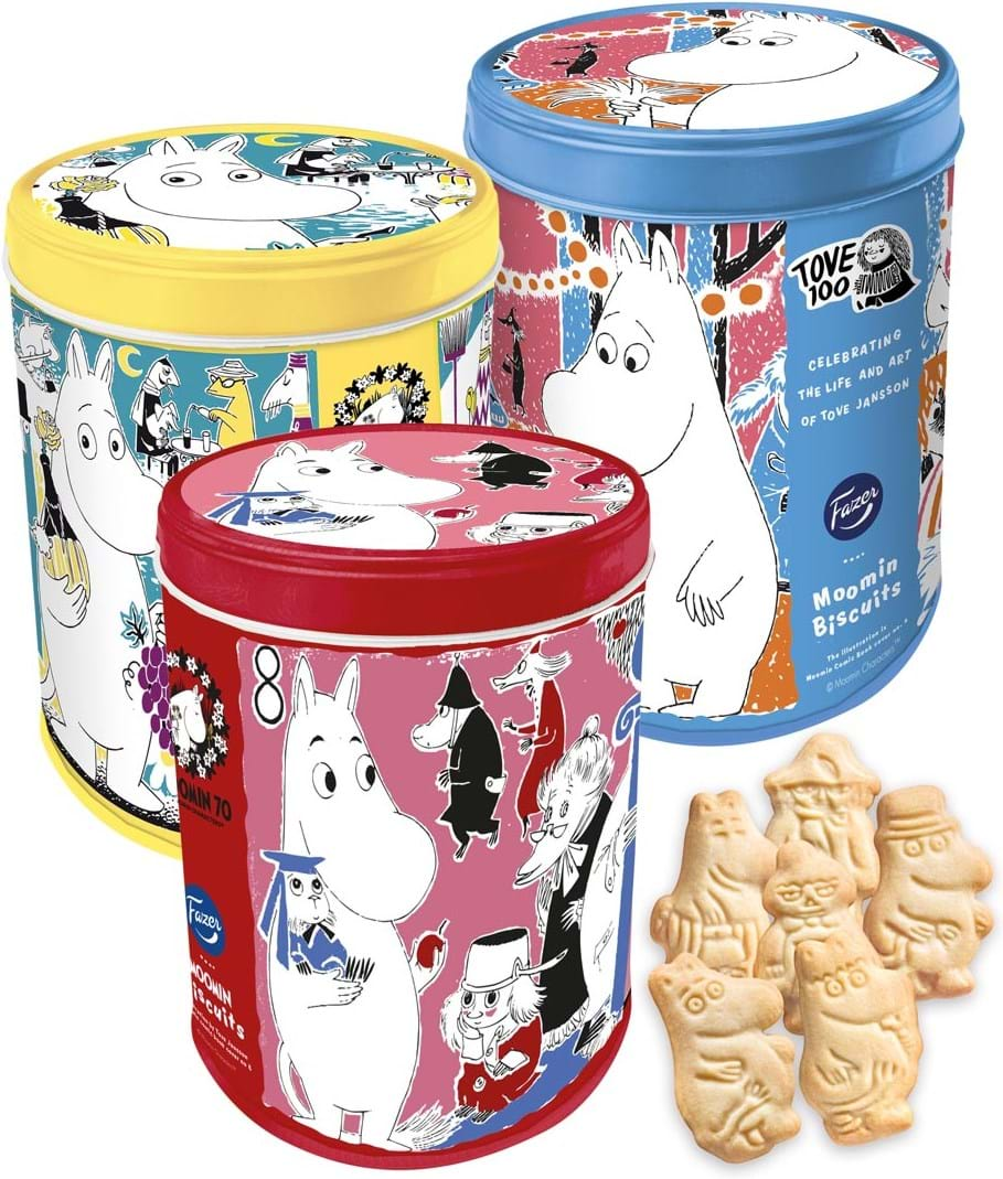 Moomin biscuit anniversarybox 175g