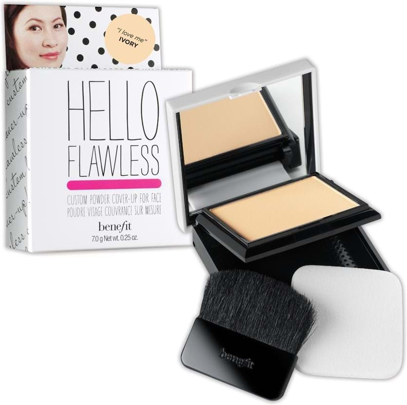 Benefit Hello Flawless pudderfoundation What I Crave