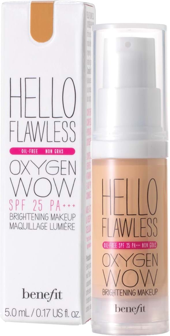 Benefit Hello Flawless Oxygen Foundation Toasted Beige 30 ml
