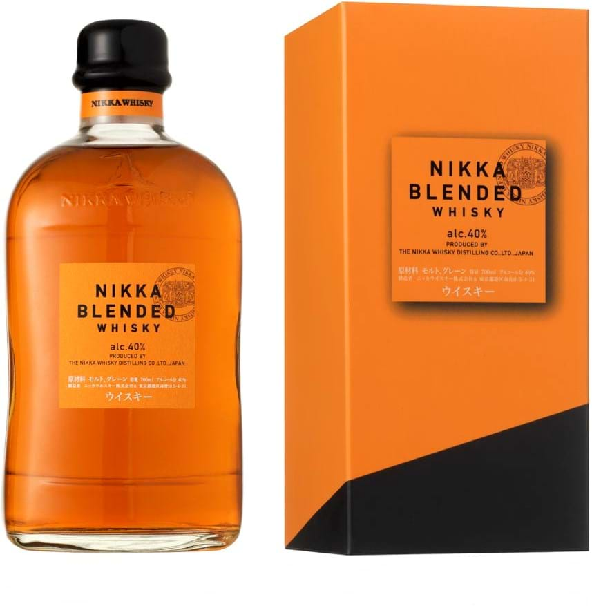 Nikka Blended Whisky 40% 0,7L, gaveæske