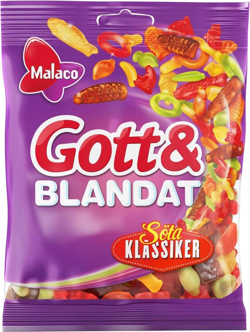 Malaco Gott & Blandat Söte Klassiker 450g