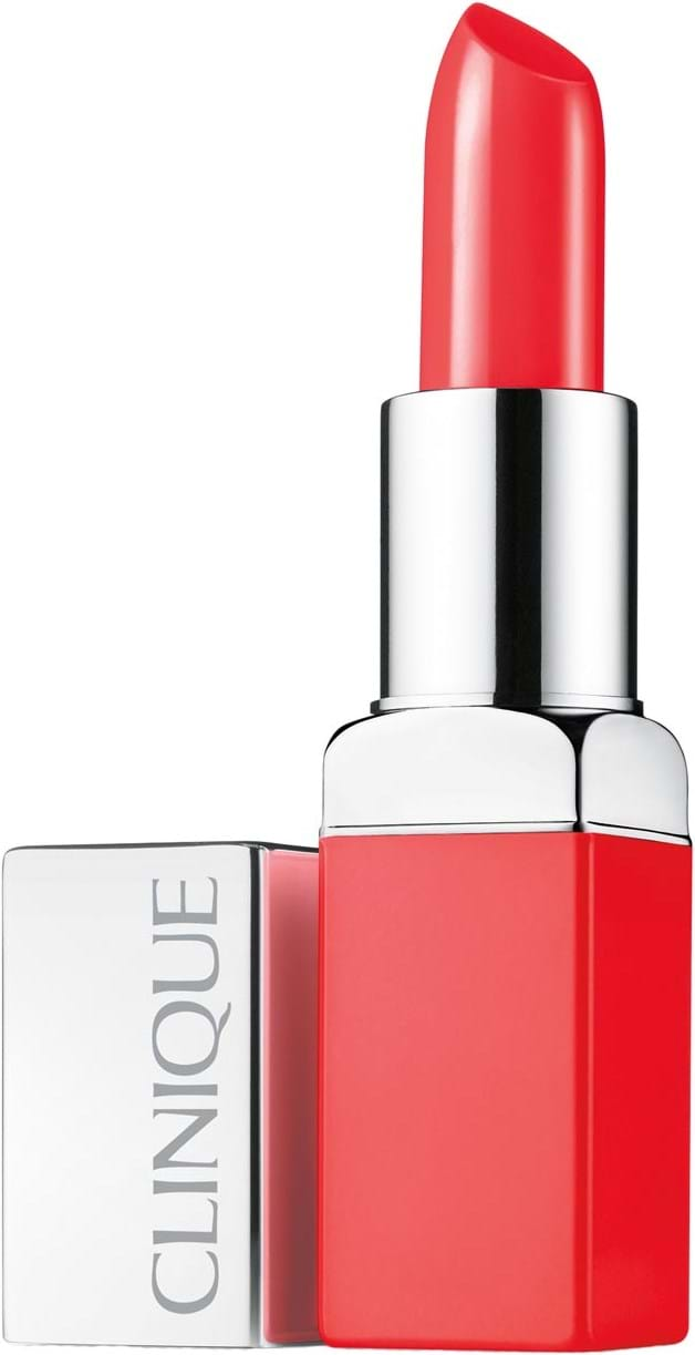 Clinique Pop Lip Colour + Primer Lipstick N° 06 Poppy Pop