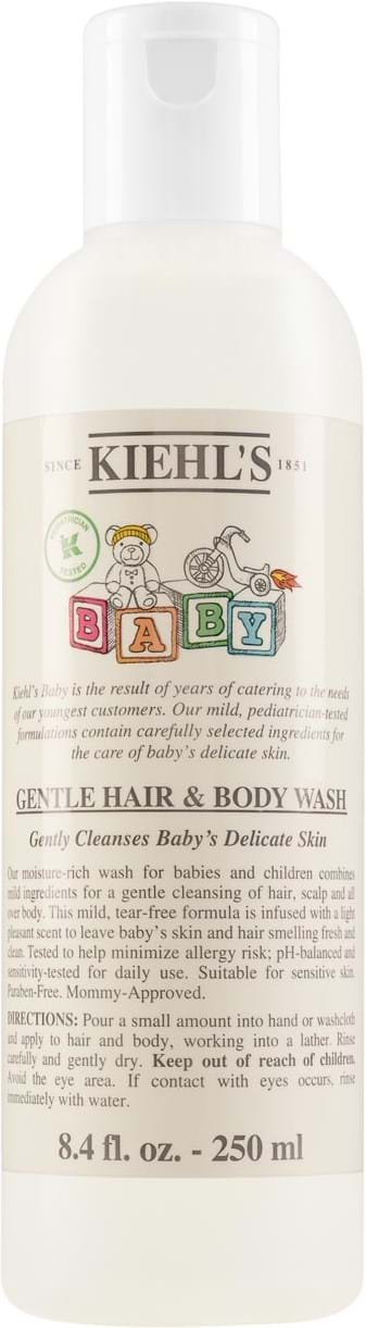 Kiehl's Natural Baby Hair and Body Wash 250 ml