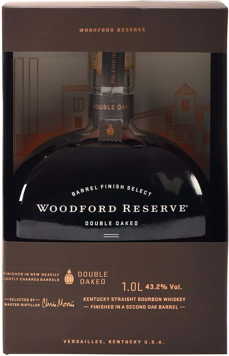 Woodford Reserve Double Oaked 43.2% 1L