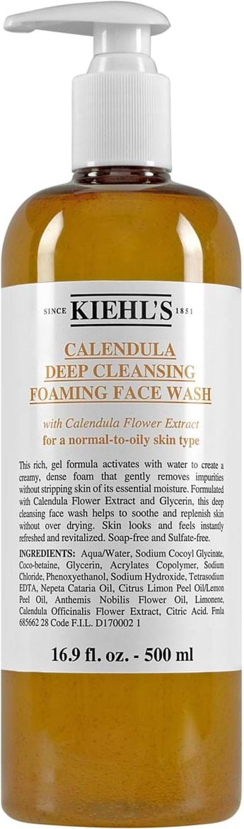 Kiehl's Calendula Deep Cleansing Foaming Face Wash 500 ml