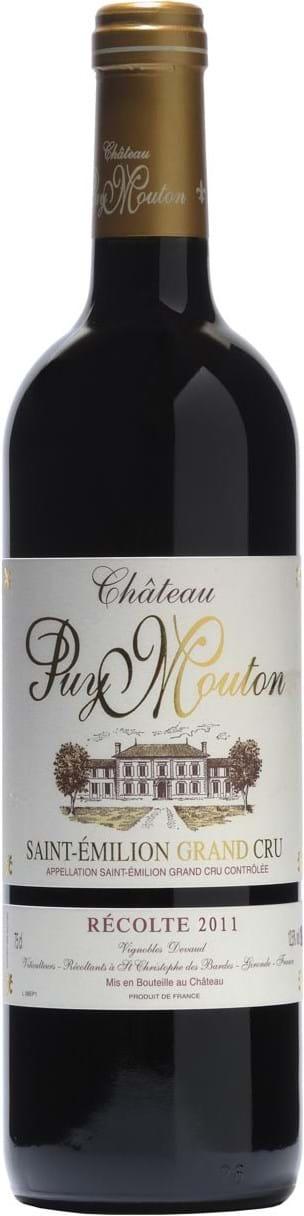Château Puy Mouton, Saint-Émilion, AOC, Grand Cru, dry, red, 0.75L