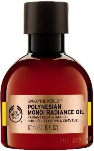 The Body Shop Spa of the World Polynesian Monoi Radiance Oil 170 ml