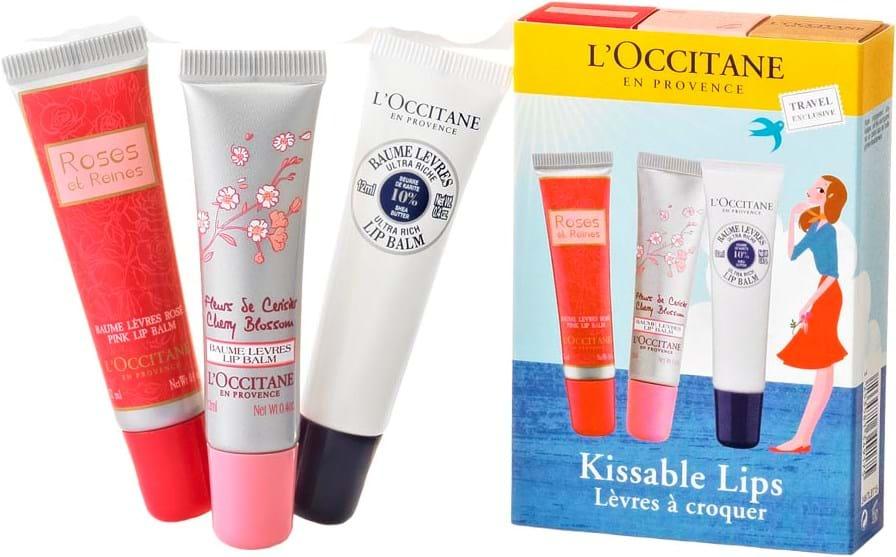 L' Occitane en Provence Kissable Lips Set