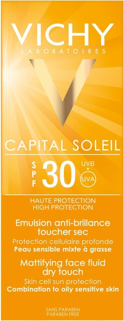 Vichy Capital Soleil Face Cream Dry Touch SPF30 Tube 50 ml