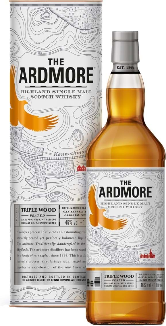 Ardmore Triple Wood 46% 1L
