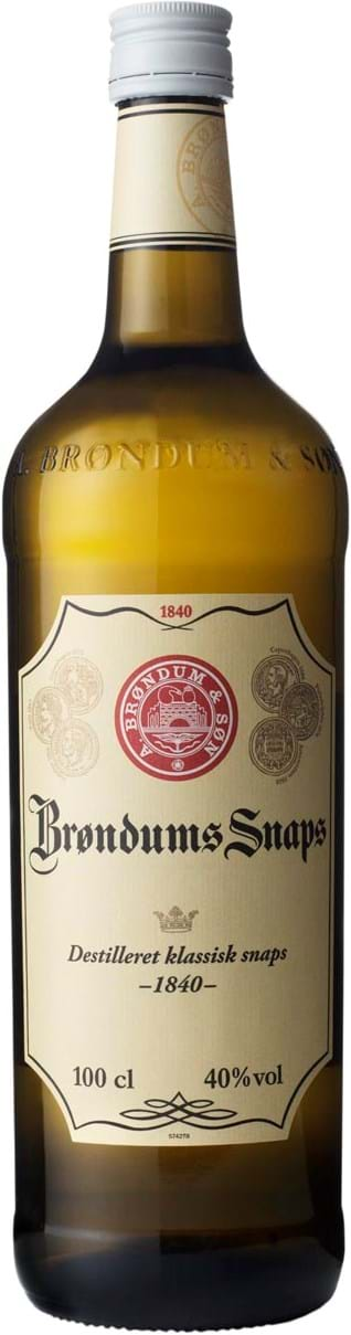 Brondums Original Aquavit 40% 1L